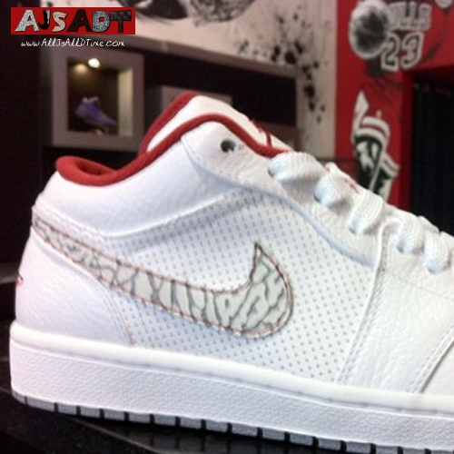 online store ff896 0597a air-jordan-1-phat-low-white-red-elephant-