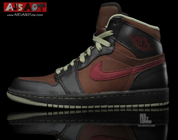 ad3ef094f3d157 All Js All D Time » Air Jordan 1 Retro High – Velvet Brown – Deep Garnet