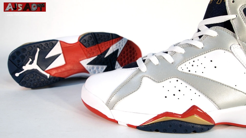 detailed look 1a0bd dc395 All Js All D Time » Air Jordan 7 – Olympic – For The Love of ...