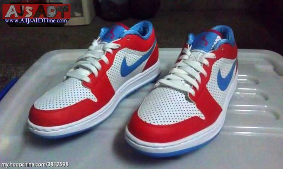 All Js All D Time Air Jordan Alpha 1 Low Red White Blue