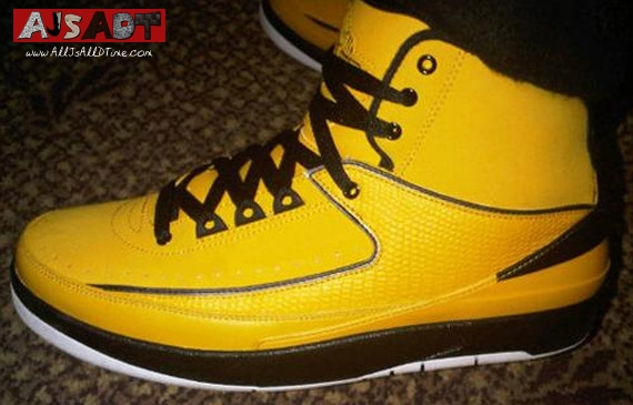detailed look e4fcc 68989 Air Jordan II – AJ 2 – Retro – Del Sol Black – Candy Pack