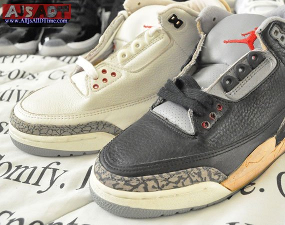 new style cce27 9ce03 All Js All D Time » Air Jordan III – White + Black Cement ...