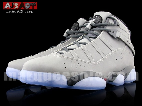 1936d3a7f07674 All Js All D Time » Air Jordan Six Rings – Light Graphite – Metallic ...