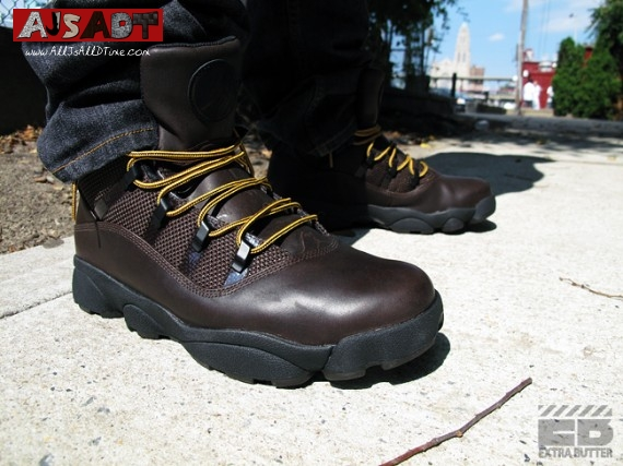 272a6ab573cbd9 All Js All D Time » Air Jordan Six Rings Winterized Boot – Dark ...