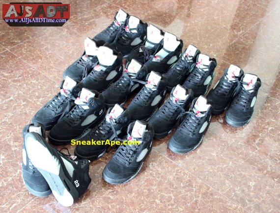 pretty nice efa99 b71e4 All Js All D Time » Air Jordan V Retro – AJ 5 – Black ...