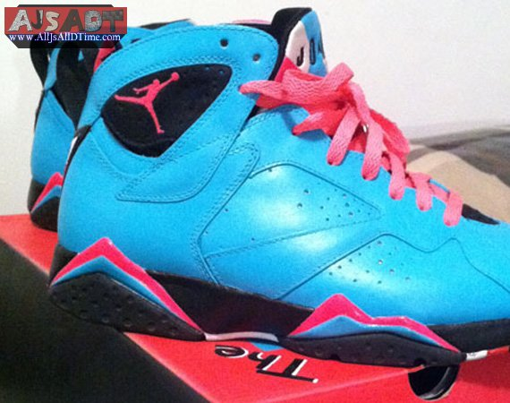super popular b754c 59f47 All Js All D Time » Air Jordan VII South Beach – AJ 7 – Customs