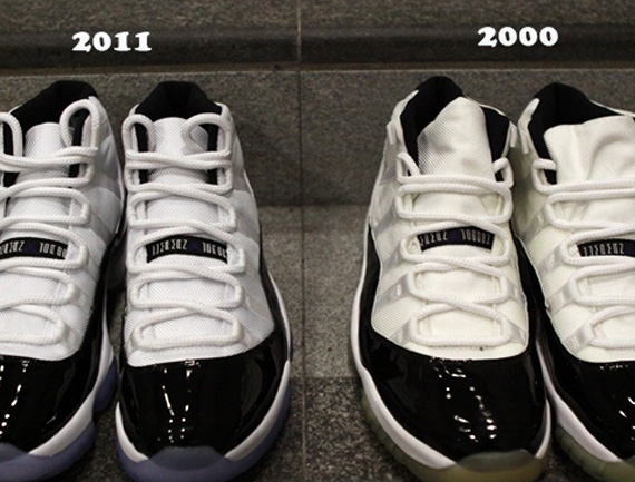 wholesale dealer 4f92d ccc22 All Js All D Time » Air Jordan XI Concord – AJ 11 – 2000 vs ...