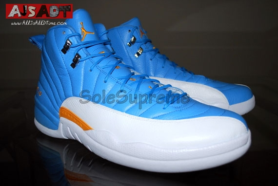 824c56afbccd All Js All D Time » Air Jordan XII – AJ 12 – Carmelo Anthony Away PE ...