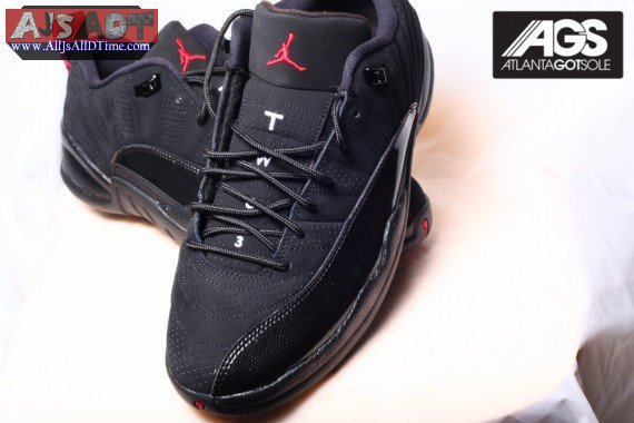 def34ca22040 All Js All D Time » Air Jordan XII Retro Low – AJ 12 – Black ...